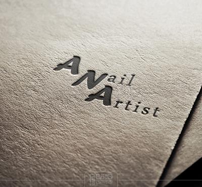طراحی لوگوی شخصی آنا جلالی